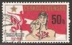 Sellos del Mundo : Europa : Checoslovaquia : 65 aniversario de la revolución del octubre rojo