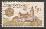 Sellos de Europa - Checoslovaquia -  Castillo Křivoklát