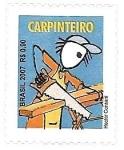 Sellos de America - Brasil -  Oficios - Carpintero