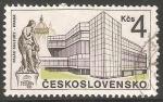 Sellos de Europa - Checoslovaquia -  Palacio de la cultura de Praga