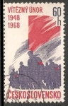 Sellos del Mundo : Europa : Checoslovaquia : 20 aniversario en febrero de 1948