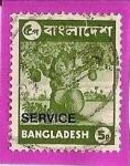 Sellos del Mundo : Asia : Bangladesh : arbol