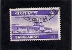 Sellos del Mundo : Asia : Bangladesh : palacio de justicia