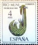 Sellos de Europa - España -  Intercambio cryf 0,25 usd 4 ptas. 1966