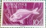 Sellos del Mundo : Europa : España :  Intercambio uxb 0,25 usd  10 + 5 cents. 1954