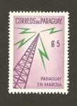 Sellos del Mundo : America : Paraguay : Paraguay en marcha