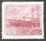 Sellos del Mundo : America : Chile : Empresa Maritima del Estado