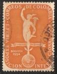 Sellos de America - Colombia -  1ª Feria Exposicion Internacional 1954