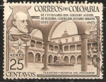 Sellos del Mundo : America : Colombia : III CEntenario del Colegio Mayor Nuestra Señora del Rosario - Bogota