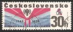 Sellos de Europa - Checoslovaquia -  Pioneer Scarf,