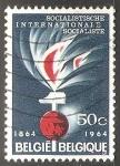 Sellos del Mundo : Europa : Bélgica : Centennial of the Socialist International