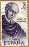 Sellos del Mundo : Europa : España : Vasco de Quiroga, Mexico - Forjadores de America