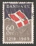 Sellos del Mundo : Europa : Dinamarca : Bandera
