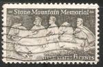 Sellos del Mundo : America : Estados_Unidos : stone mountain memorial