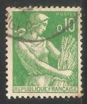 Sellos de Europa - Francia -  Agricultura - cultivos