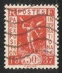 Sellos del Mundo : Europa : Francia : Exposición Internacional de París de 1937
