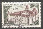 Sellos del Mundo : Europa : Francia : Castle of Bazoches du Morvand