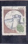 Sellos de Europa - Italia -  castello de Robereto