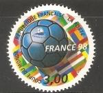 Sellos de Europa - Francia -  Copa del mundo - Francia 98