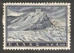 Sellos de Europa - Grecia -  Templo de Poseidon