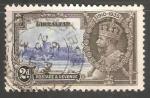 Sellos del Mundo : Europa : Gibraltar : Jubileo de plata del rey Jorge V