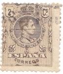 Sellos del Mundo : Europa : España : rey Alfonso XIII