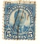Sellos de America - Estados Unidos -  Roosevelt