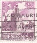 Sellos de Europa - España -  Torre del Oro de Sevilla (26)