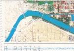 Sellos de Europa - España -  viñeta mapa (sin valor postal) (27)