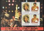 Sellos del Mundo : America : San_Vicente_y_las_Granadinas : Michael Jackson