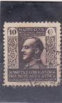 Sellos de Europa - Marruecos -  General Franco-pro-mutilados Africa