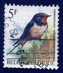 Sellos de Europa - Bélgica -  Pajaro