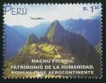 Sellos del Mundo : America : Perú : PERÚ -Santuario histórico de Machu Picchu