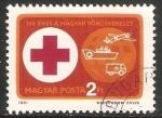 Sellos del Mundo : Europa : Hungría : 100 años de la cruz roja hungara