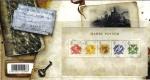 Sellos del Mundo : Europa : Reino_Unido : GRAN BRETAÑA Great Britain 2007 Tarjeta y Sellos Nuevos Harry Potter