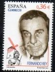 Sellos de Europa - España -  4720-  Cine español. Fernando Rey ( 1917- 1994 ) y alusión a su película