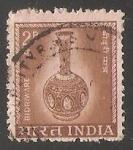 Sellos del Mundo : Asia : India : Country Motifs