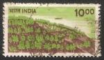 Sellos de Asia - India -  Reflorestacion