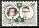Sellos de Europa - Bélgica -  Balduino y Fabiola