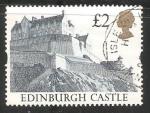 Sellos del Mundo : Europa : Reino_Unido : Castillo de Edimburgo