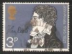 Sellos del Mundo : Europa : Reino_Unido : John Keats - 150 aniversario de su muerte