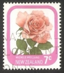 Sellos de Oceania - Nueva Zelanda -  MICHELE MEILLAND