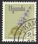 Sellos del Mundo : Africa : Uganda : Coleus barbatus