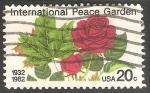 Sellos de America - Estados Unidos -  Rosas