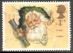 Sellos del Mundo : Europa : Reino_Unido : Papa Noel