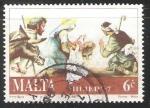 Sellos del Mundo : Europa : Malta : Los pastorcitos