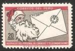 Sellos del Mundo : America : Perú : Aguinaldo del personal de correos