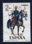 Sellos de Europa - España -  Lancero de caballeria