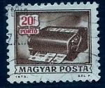 Sellos de Europa - Hungría -  Fotocopiadora