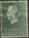 Sellos de Europa - Holanda -  HOLANDA Netherlands 1954-57 Scott 362 Sello Reina Juliana Usado